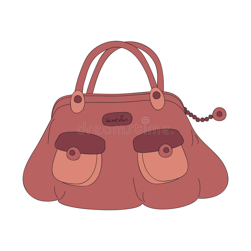 Handbag vector illustration