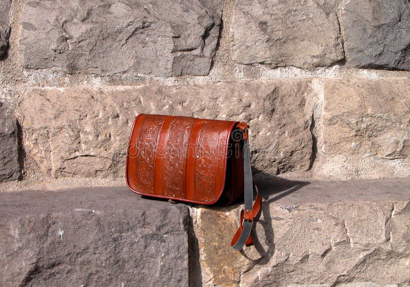 Download Handbag stock image. Image of industry, rocks, clothes, steps - 79819