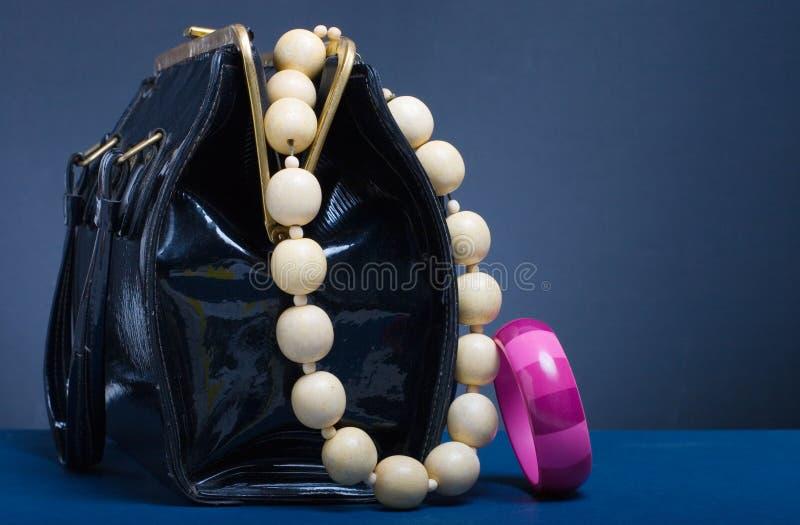 Handbag and jewelry