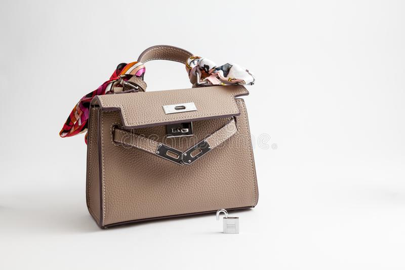 An handbag for women royalty free stock images