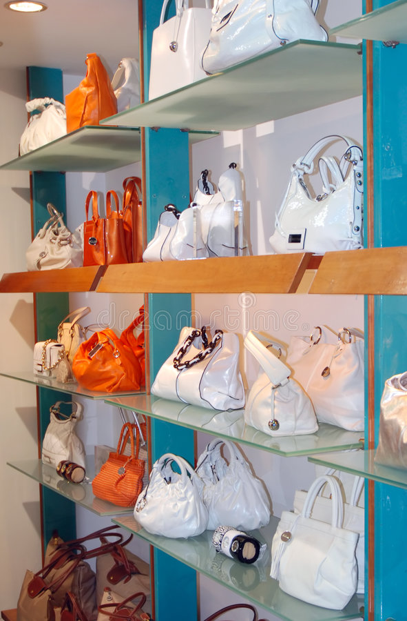 Download Handbags In The Shop Stock Photo - Image: 4988780
