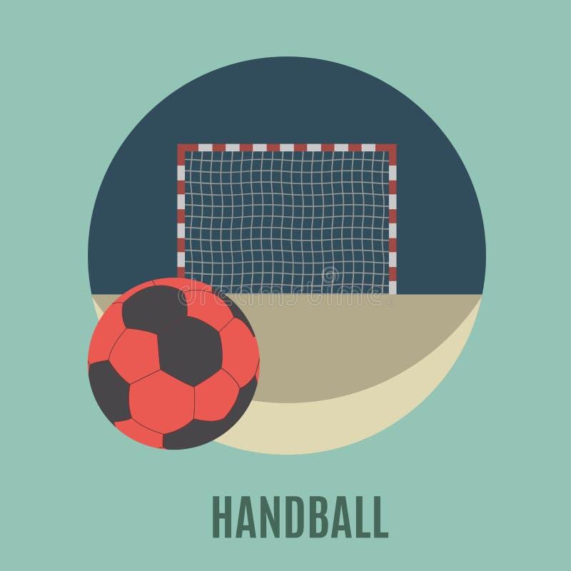 handball illustration stock