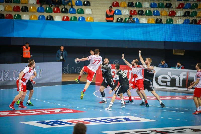 handball stockfotografie