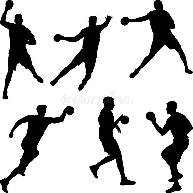 Free Handball Player Stock Image - 161300711
