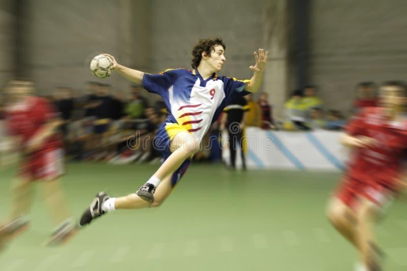 Handball player royalty free stock images