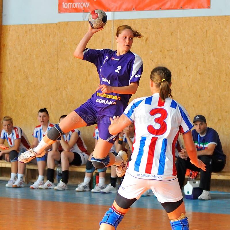 Free Handball Players Stock Photo - 33704530