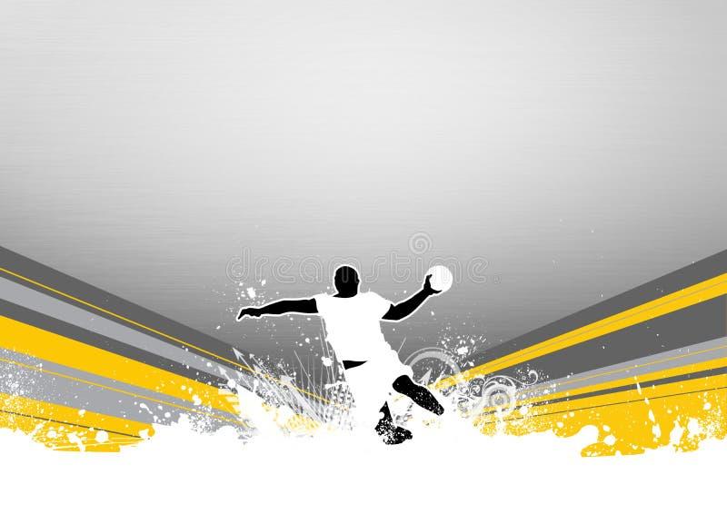 Handball Shot Royalty Free Stock Images
