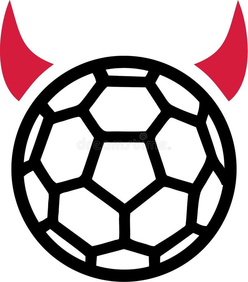 Handball-Teufel vektor abbildung