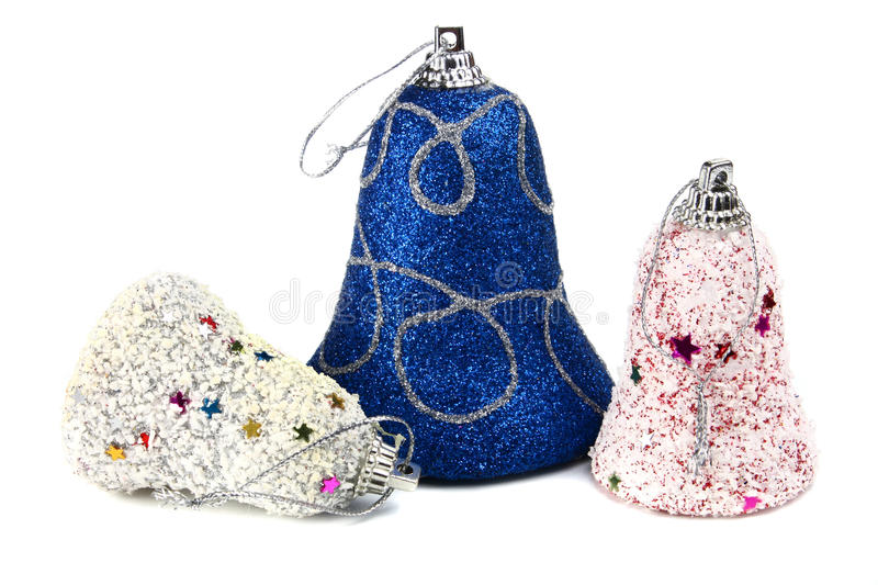 Download Handbell Decoration For A New-year Tree Royalty Free Stock Images - Image: 16352989