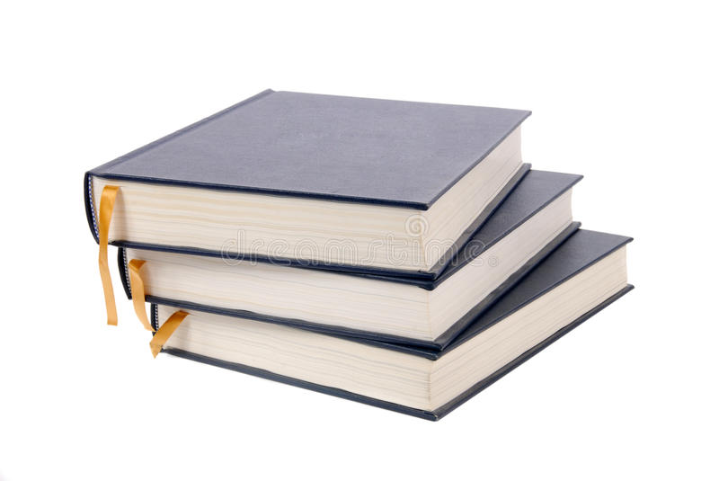 Handboeken stock afbeeldingen