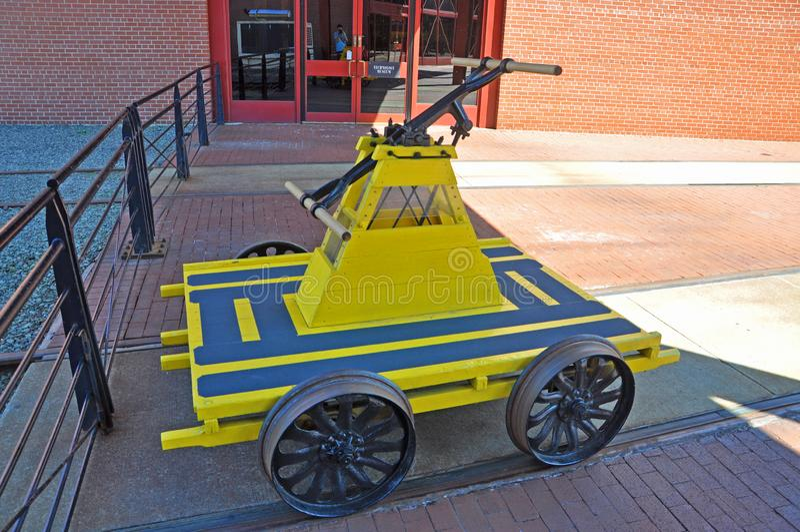 Handcar, Scranton, PA, США стоковые фото
