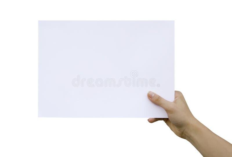 Handcard fotografia stock