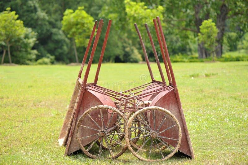 handcarts royaltyfria foton