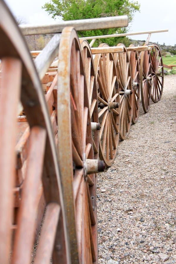 handcarts arkivfoton
