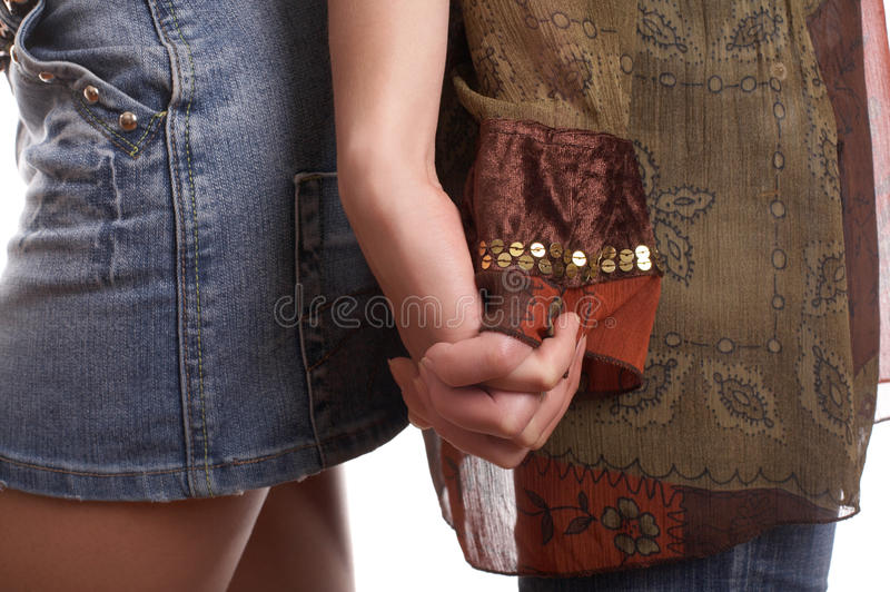 Handclasp royalty free stock image