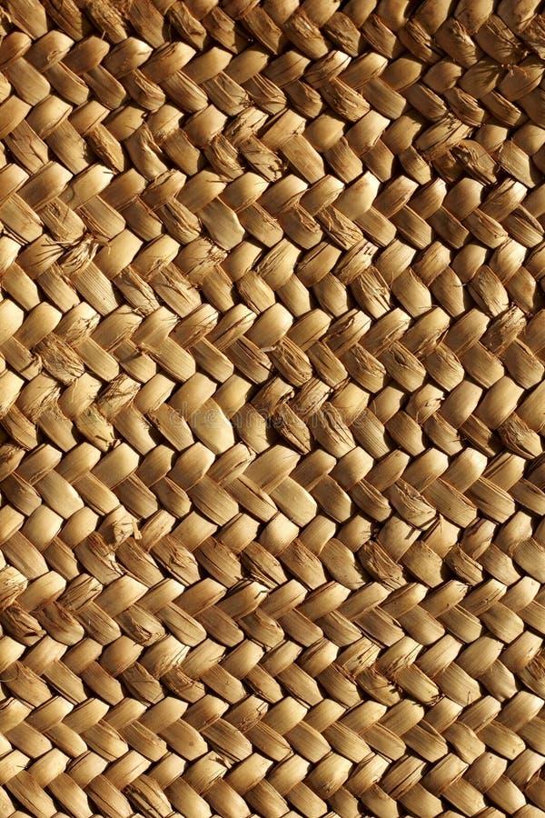 Handcraft la fibra vegetal natural de la textura de la armadura imagenes de archivo