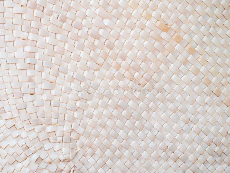 Handcraft le fond en bambou de texture d'armure photographie stock libre de droits