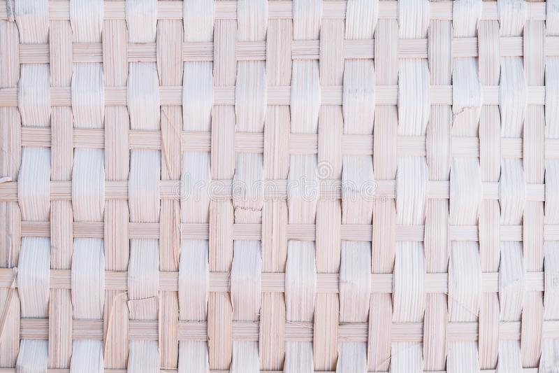 Handcraft le fond en bambou de texture d'armure photo libre de droits
