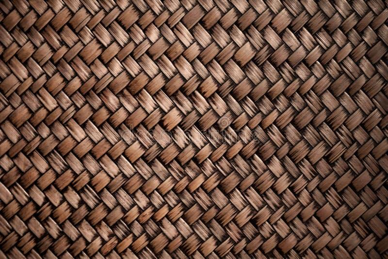 Handcraft le fond en bambou de texture d'armure images stock