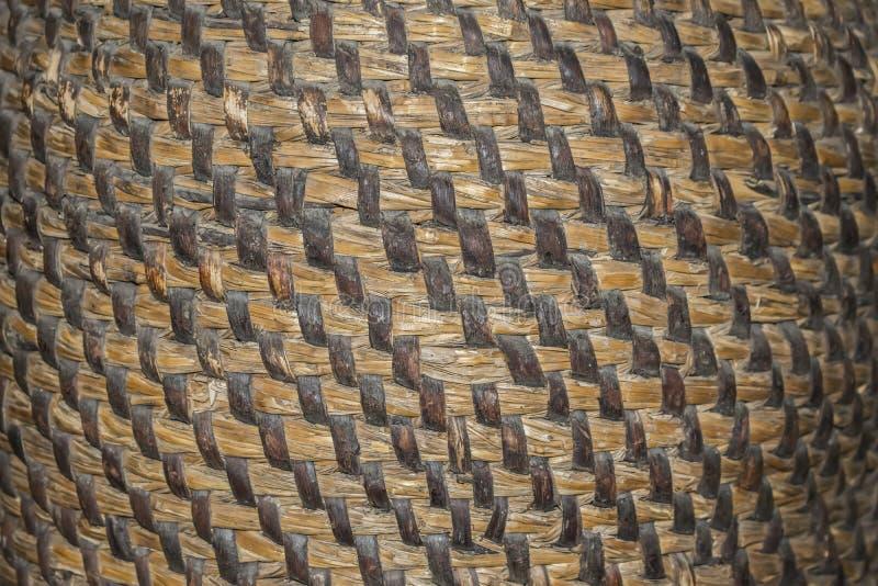 Handcraft o vime natural da textura do weave, cesta da textura, natural imagem de stock