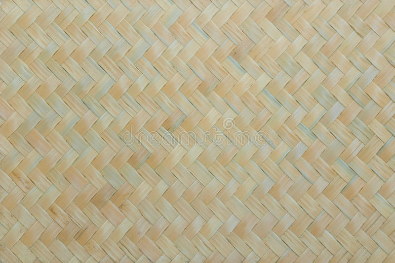 Handcraft wyplata tekstura bambusa ściany naturalnego tło fotografia royalty free