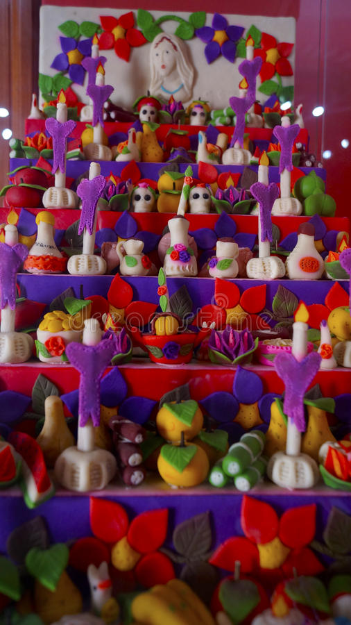Handcrafted Candies In A Colorful Array For The Day Of The