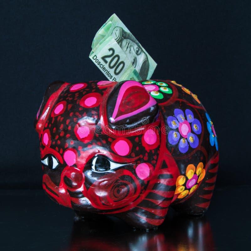 Handcrafted Mexicaans speelgoed royalty-vrije stock afbeelding
