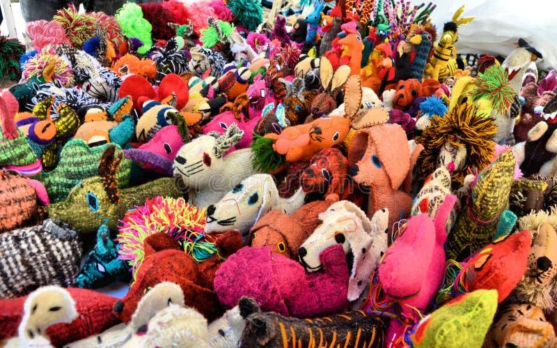 Handcrafts Mexico royaltyfri fotografi
