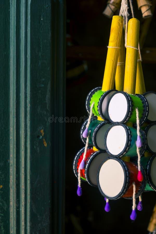 Handcrafts in Modelo market in Salvador de Bahia. Brazil stock photo