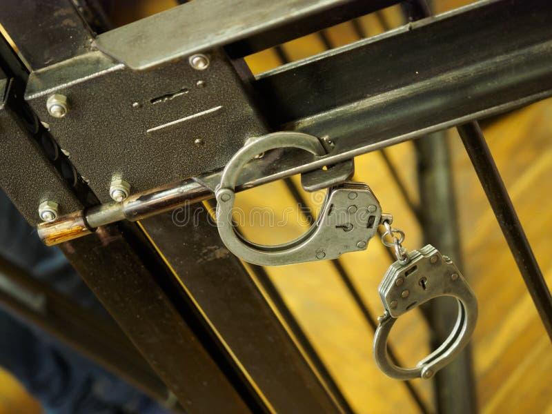 handcuff fotografia stock libera da diritti
