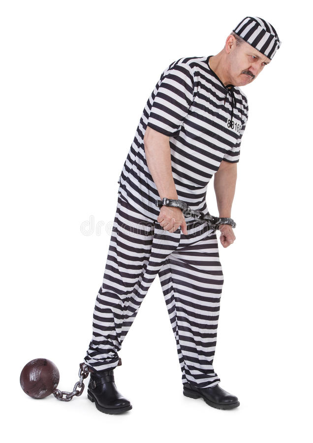 Download Handcuffed prisoner stock photo. Image of chained, chain - 28269266