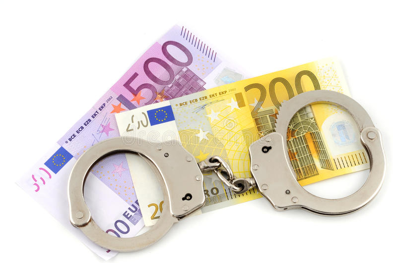 Download Handcuffs stock image. Image of hooligan, euro, police - 11156103
