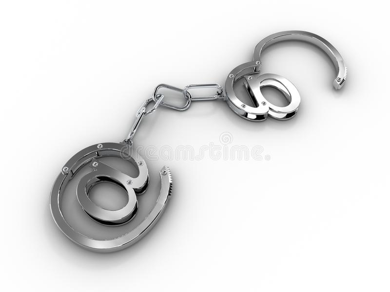 Handcuffs With Stock Image