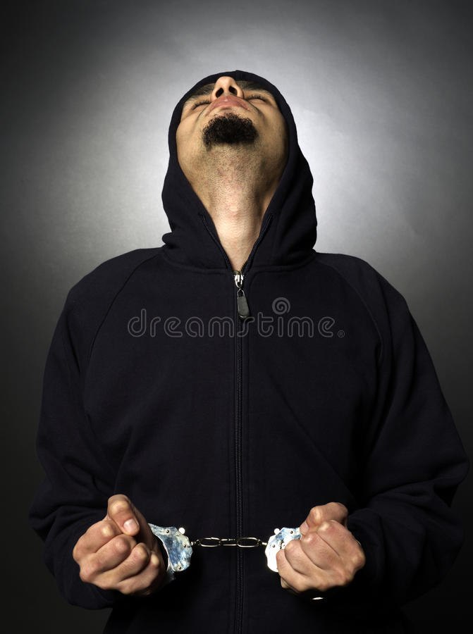 Download Handcuffs stock photo. Image of criminal, arrests, background - 12592808