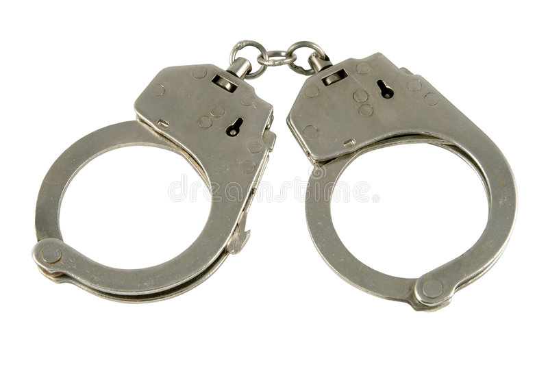 Download Handcuffs stock image. Image of secure, confine, chain - 1665701