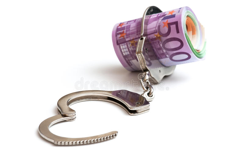 Download Handcuffs stock image. Image of crunch, budget, bill - 20798715