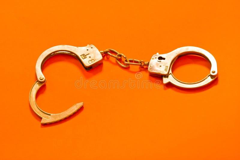 Handcuffs royalty-vrije stock foto