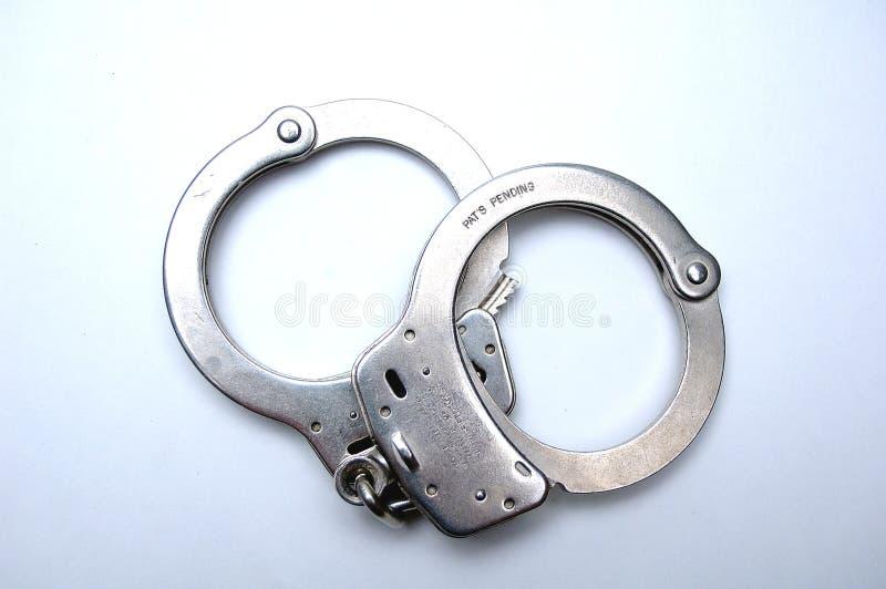 Handcuffs fotografia stock libera da diritti