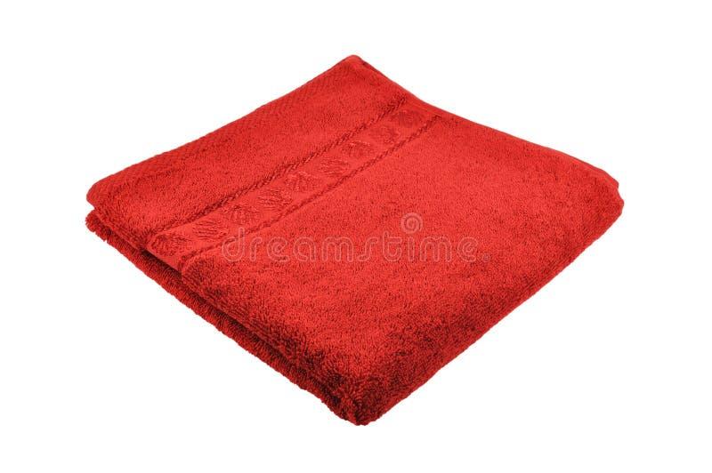 Handdoek royalty-vrije stock afbeelding