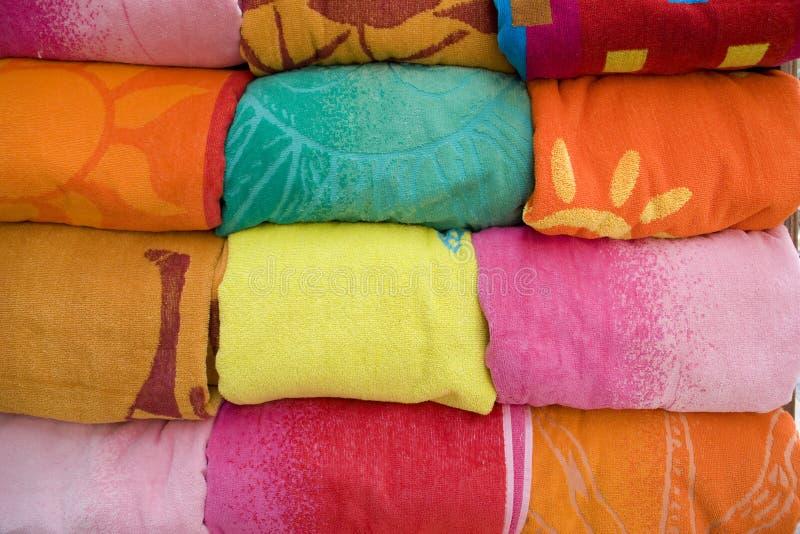 Handdoeken royalty-vrije stock afbeelding