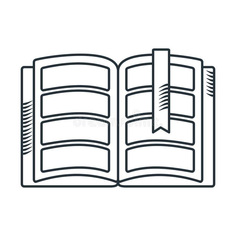 Handdraw ikony książka ilustracja wektor