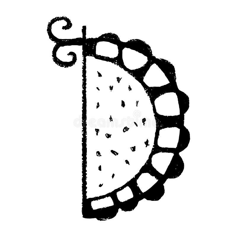 Luxury Brand Name Golden Floral Logo Concept Design: Letter D, Floral Design Stock Vector. Illustration Of