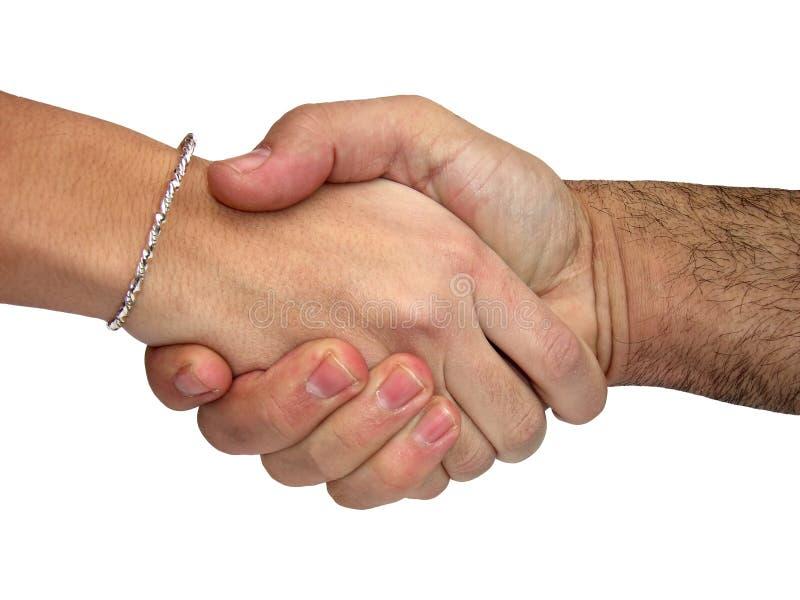 Handdruk royalty-vrije stock afbeelding