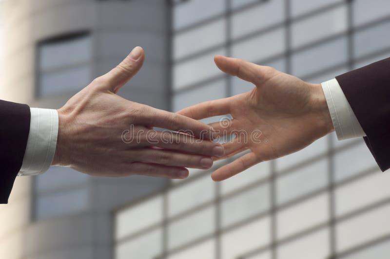 Handdruk stock afbeelding