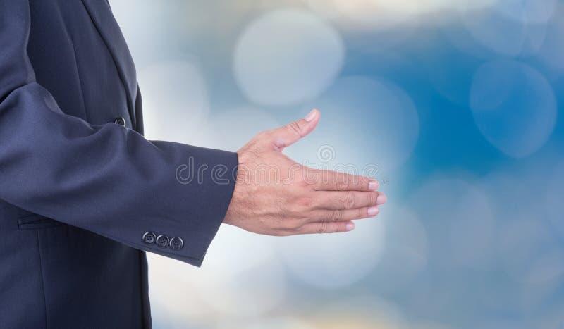Handdruk stock fotografie