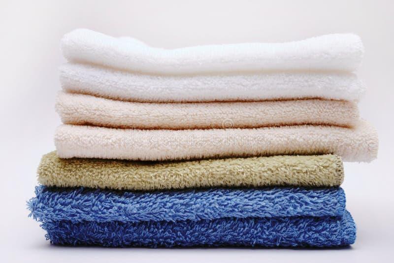 handdukar arkivfoto