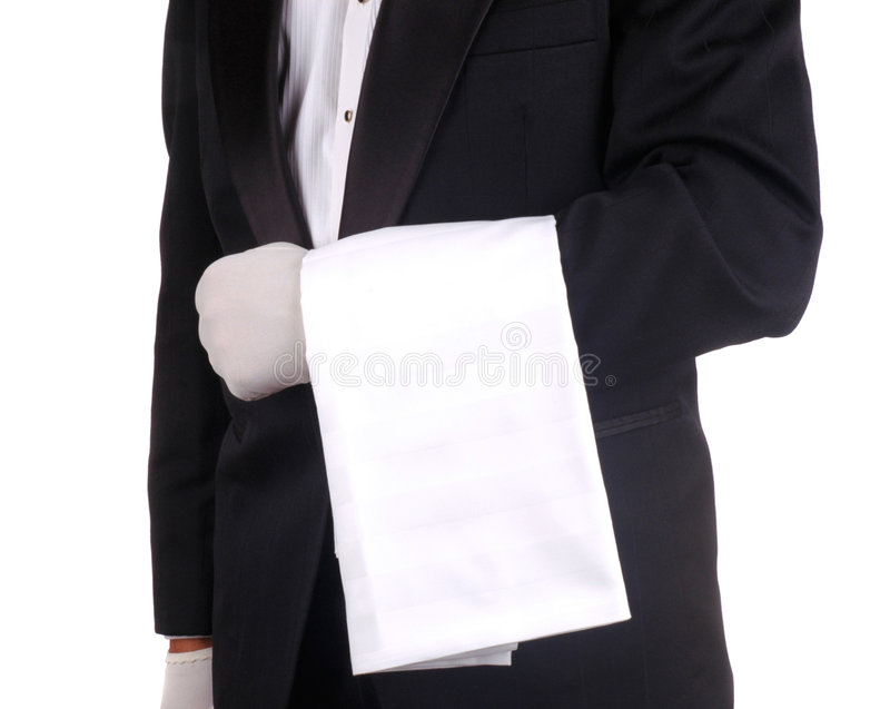 handdukuppassare royaltyfri fotografi