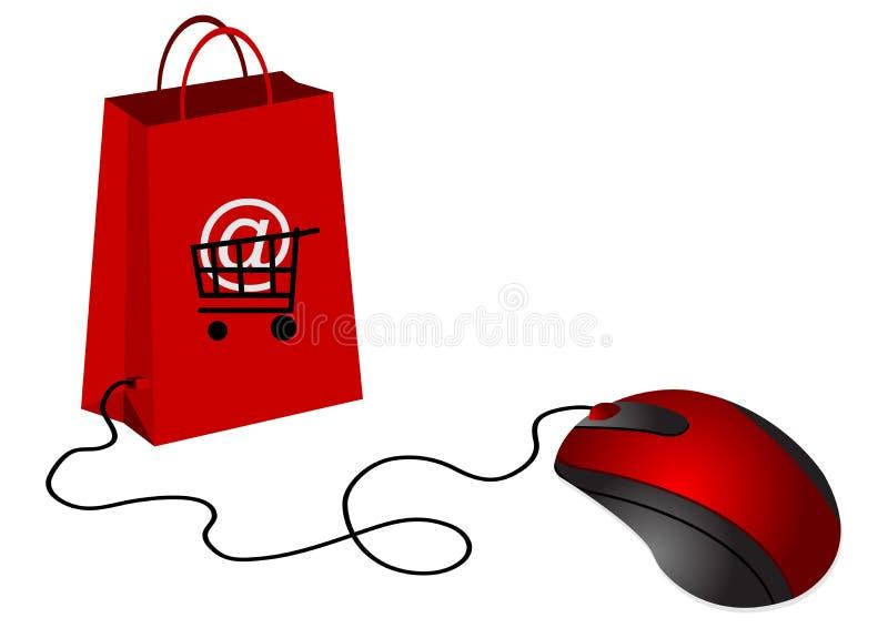 handel elektroniczny royalty ilustracja