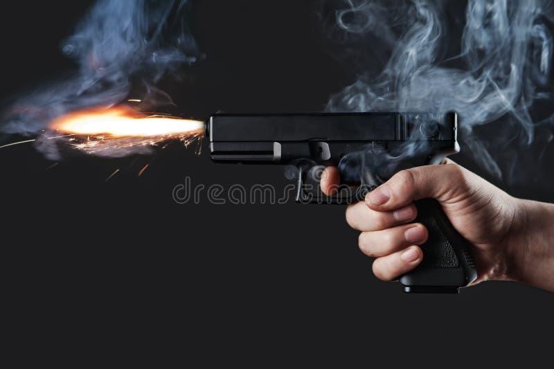 Handeldvapen royaltyfri foto