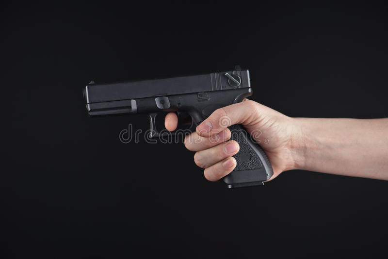 Handeldvapen royaltyfria bilder